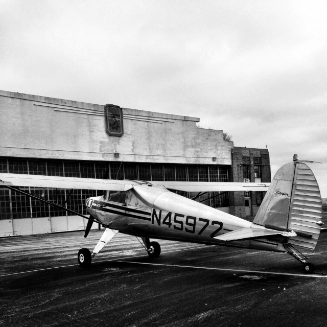 A 1946 Luscombe 8A at St. Louis Downtown Airport - photo by Scott Allen